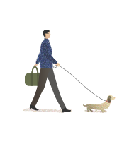 Dog and Walker